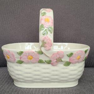 Franciscan  desert  rose 3D basket